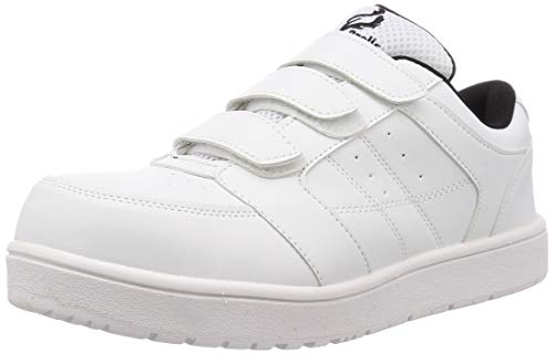 [富士手袋工業] 安全靴 作業靴 セーフティスニーカー 23~30cm展開 耐滑 53-70 ホワイト 26.0 cm 3E