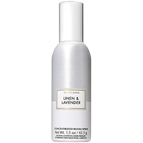 Bath and Body Works Linen & Lavender Concentrated Room Spray 1.5 Ounce (2019 Two-Tone Color Edition)