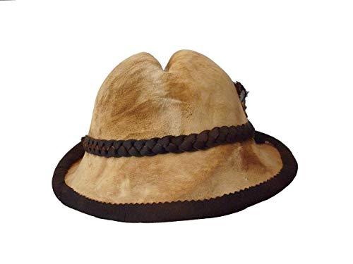 Amadou hat with mushroom decoration