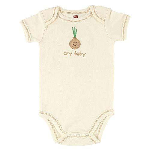 Promini - Combinaison bébé mignonne - Touched by Nature Hudson - Body bébé - Une pièce - Barboteuse - Cadeau idéal pour bébé - Blanc - 6 mois