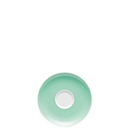 Thomas Sunny Day Soucoupe pour Tasse à Café 20 cl, Porcelaine, Baltic Green / Vert, Passe au Lave-Vaisselle, 14,5 cm, 14741
