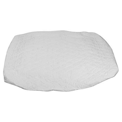 Omabeta Sábana Ajustable de algodón de 160x200 cm, colchón Transpirable Impermeable, Funda Protectora Antideslizante, Accesorio de Ropa de Cama de Hotel para el hogar