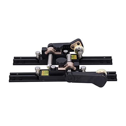 Sierra de mesa para carpintería, herramienta de carpintería duradera aleación de aluminio exquisita sierra de mesa de bricolaje de alta resistencia para el respaldo de la sierra de mesa