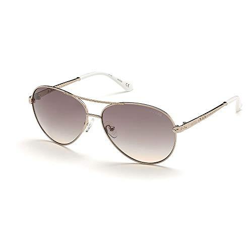 Guess gafas de sol GU7470-S 28AND de oro rosa, marrón tamaño de 60 mm de Mujer