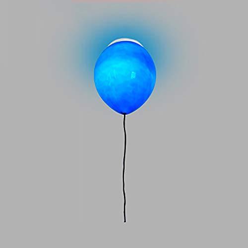 WWLONG Kristall-Ballon-Kronleuchter E14 Deckenleuchte moderner halb eingebetteter Kronleuchter Dreifarbige Lichtquelle Kronleuchter Design Decken Kronleuchter Lampenschirm-Royalblue-Grey