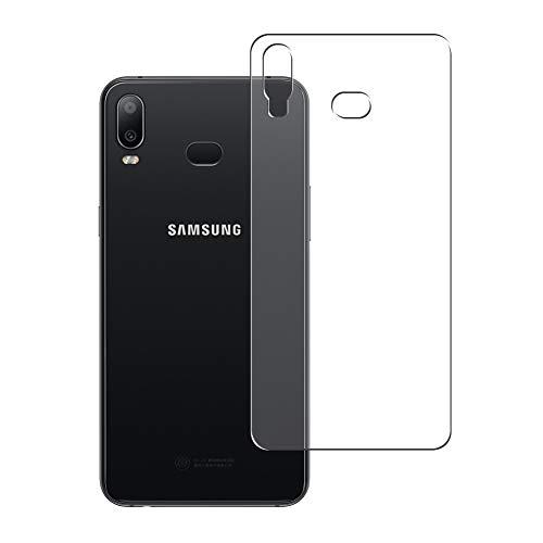 Vaxson 2 Stück Rückseite Schutzfolie, kompatibel mit Samsung Galaxy A6s SM-G6200, Backcover Skin TPU Folie [nicht Panzerglas/nicht Front Displayschutzfolie]