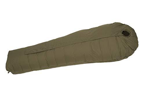 Defence 6 Carinthia 寝袋 シュラフ 冬用 マミー型 キャンプ 防水 丸洗い (Olive, M)