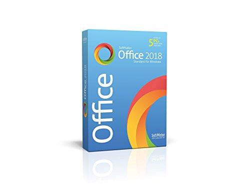 SoftMaker Office Standard 2018 für Windows|Standard|1|unbeschränkt|PC / Notebook|Disc|Disc