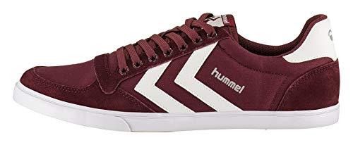 Hummel Unisex-Erwachsene Hummel Slimmer Stadil Low-Top, Rot Cabernet, 40 EU