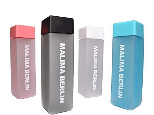 MALIMA BERLIN Trinkflasche 450ml / auslaufsichere Wasserflasche für Sport, Fitness, Outdoor, Wandern / 100% BPA-FREI