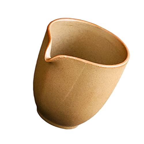 Cabilock Taza de Té de Cerámica Jarra Chino Kung Futea Set de Tazas de Café de Oficina Teaware Hogar Tazas de Té Contenedor de Té Gong Bao Bei para Bebidas Mezcladas Zumo de Agua Cóctel de
