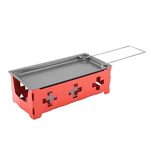 Ymiko Sartén para derretir Queso, Mini raclette portátil para Queso, fundidor de...