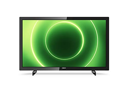Philips 24PFS6805/12 24-Zoll Fernseher (Full HD LED TV, Pixel Plus HD, HDR 10, Saphi Smart TV, Full-Range-Lautsprecher, 3 x HDMI, 2 x USB, Ideal für Gaming) - Schwarz Glänzend [Modelljahr 2020]