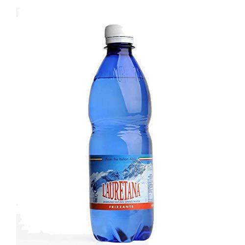 24 bottiglie Acqua Minerale Frizzante Lauretana 50 cl