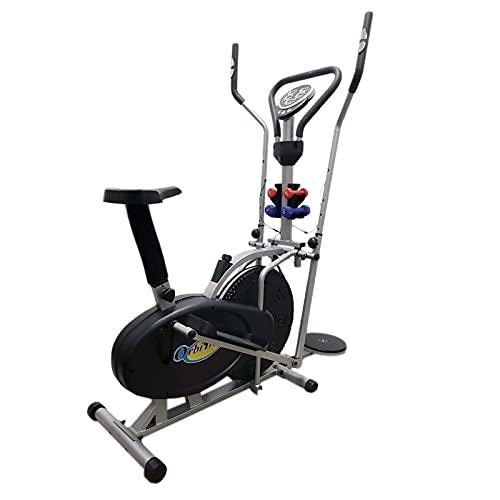 FLMDK414 Ellittica Home Trainer Bici da Camera Fitness Professionale Cross Trainer Cardio Pesetti Board Twist Disco Torsione