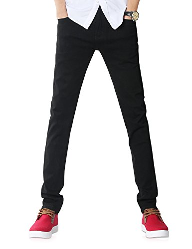 Demon&Hunter 808 Series Men's Skinny Slim Jeans DH8020(34)