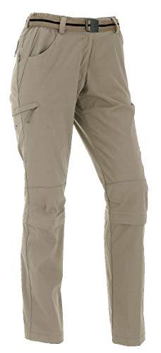 Maul Trail Insect Shield - Pantaloni Capri da Donna, Donna, Sabbia, 38