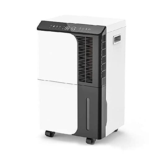 LLGBD Worth Having - Deumidificatore per camere Medie e scantinati Fino a 1000 mq, con Serbatoio dell'Acqua 8L (280 oz), rimuove l'umidità e l'umidità (50 Litri/Giorno)