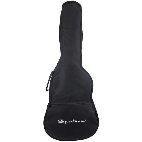 Spectrum AIL AGX Acoustic Guitar Gig Bag with Bonus Strings