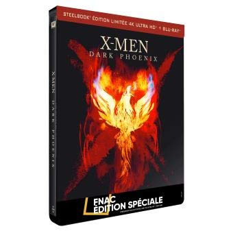 X-MEN DARK PHOENIX STEELBOOK 4K FNAC FRANCE