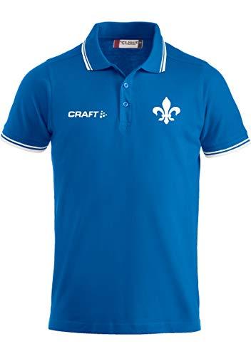 Craft SV Darmstadt 98 Poloshirt, Größe:XL, Farbe:Cobalt