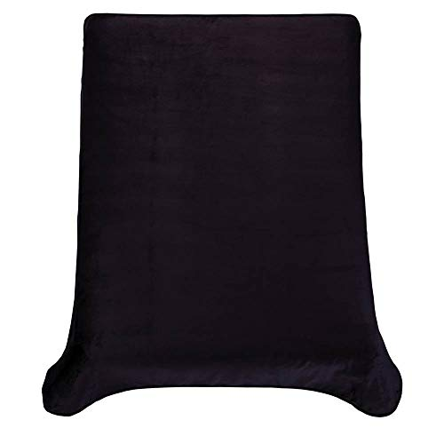 Colchas Concord Ultrasuave Cobertor, Negro, Matrimonial, 1 Unidad