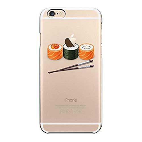 Cover compatibile per iPhone 6/iPhone 6S, in TPU ultra flessibile, con protezione flessibile e Crystal Premium per iPhone 6/iPhone 6S Sushi M