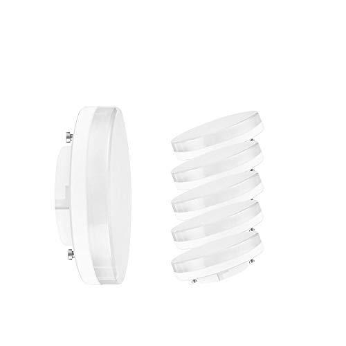 Osram LED-Leuchtmittel, 3,5 W, 270 lm, GX53, 25 W Halogenlampen, ersetzt sehr warmweiß, 2700 K, 15000 Stunden Lebensdauer, 5 Stück Osram OS105591 LED-Leuchtmittel