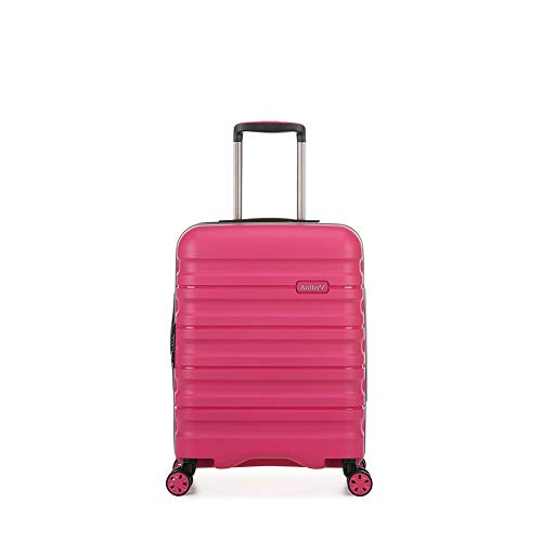 Antler Juno II Brights Cabin Suitcase Pink , Size: 55 x 40 x 20