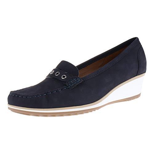 Ara Damenschuhe Slipper Mokkasins Blau 123093602 (7 UK)