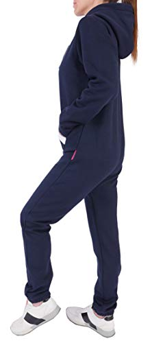 Finchgirl Damen Jumpsuit Overall Navy - 3