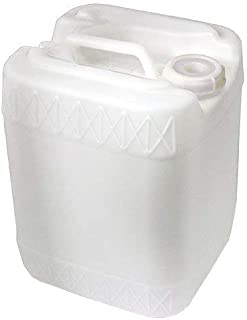 Air Sea Containers 19L / 5 Gallon HDPE Jerrican (Natural/White)