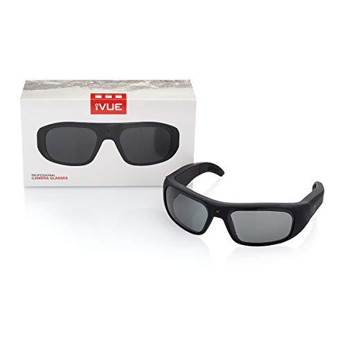 iVUE Vista 4K/1080P HD Camera Glasses Video Recording Sport Sunglasses DVR Eyewear, Up to 120FPS, 64GB Memory