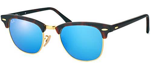 Ray-Ban Unisex-Erwachsene Sonnenbrillen CLUBMASTER RB 3016, 114517, 49