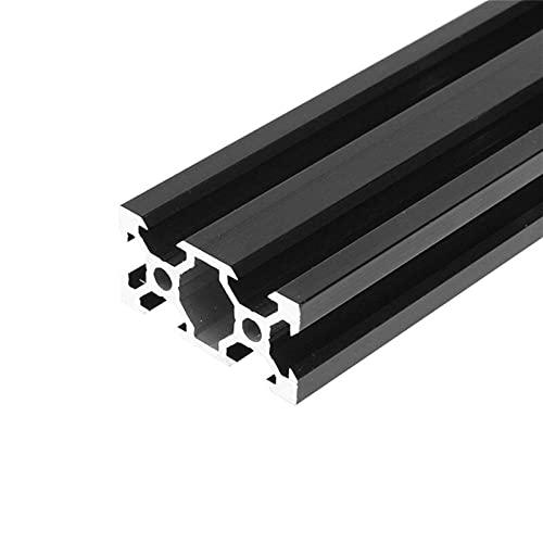 Printer Accessories Extrusion Frame, 100-1000mm Black 2040 V-Slot Aluminum Profile Extrusion Frame for CNC Laser Engraving Machine Tool Woodworking DIY 1pcs (Color : 200mm) (Color : 1000mm)