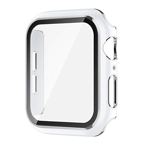 AVIDDA コンパチブル Apple watch ケース アップルウォッチ保護ケース iWatch 全面保護カバー 9H硬度 ガラ...