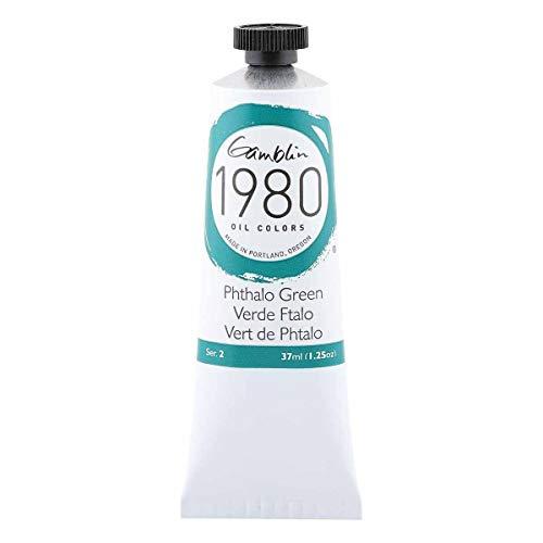 Gamblin 1980 Oil Phthalo Green 37Ml