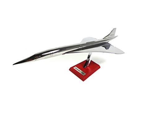 OPO 10 - Concorde aérospatiale 1969 échelle 1/200 (30 cms) Argent - Avion Collection Atlas Silver Classics
