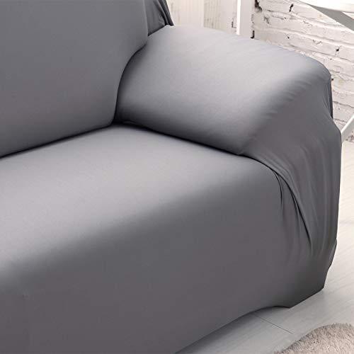 Mothinessto Fundas de poliéster Lavable a máquina aptas para la Piel para el Dormitorio de la Sala de Estar(Single Seat 90-140cm)