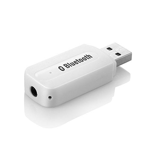 USB sans fil Bluetooth Récepteur Audio,3.5mm Musique adaptateur Récepteur Voiture Mains-libres Portable Mini USB Bluetooth lMusique Récepteur Audio