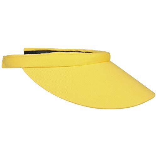 Seeberger Azalee Visor Baumwolle Baumwollvisor Sonnenvisor Sonnenschutz Blendschutz Strandvisor Sonnenvisor Damenvisor (One Size - gelb)