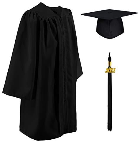 GraduatePro Graduacion Birrete Niño y Toga Sombrero Niña Regalo Jardín de Infancia Preescolar Fotografía