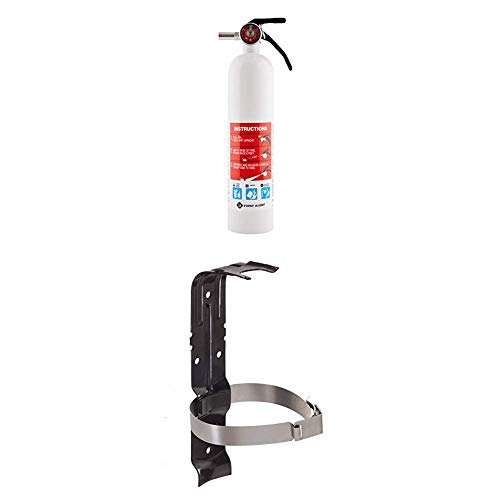 First Alert Fire Extinguisher | Marine Fire Extinguisher, White, 8.8