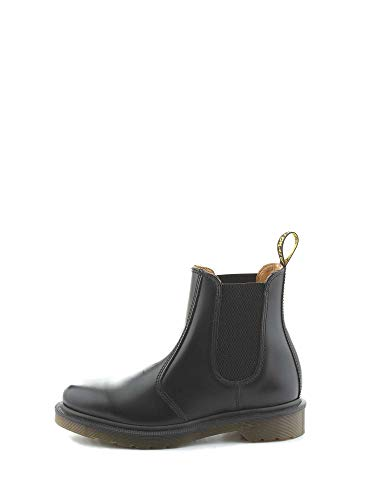 Dr. Martens 2976 SMOOTH BLACKPLAIN WELT, Stivaletti Unisex Adulto, Nero, 39
