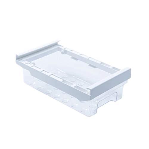 FEGSX Caja de conservación automática de huevos, caja de almacenamiento para frigorífico, cajón de almacenamiento para frigorífico, huevos, acabado para colgar, 0414 (color claro)