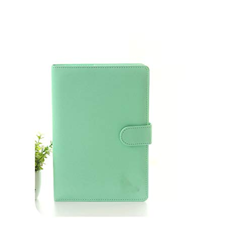 Weekly Planner Sweet Notebook Creative Student Schedule Diary Book Color Pages School Supplies No Year Limit,Green,Size 135X195Mm
