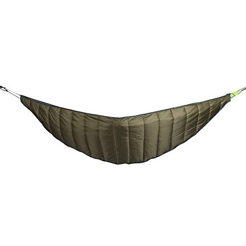 Anjing Thick Hammock Warm Cover Winter Outdoor Leisure Insulation Cotton Hammock Windproof Warm Hammock Cover Army Green