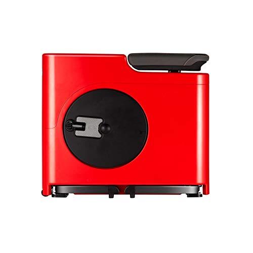Lixiabeidai Cyclettepieghevole a Controllo Magnetico da casa, Adatta per l'esercizio Fisico al Coperto, Cyclette Magnetica Regolabile a Otto Livelli, Adatta per l'eserciziofisicoa Pedali Indoor,Red