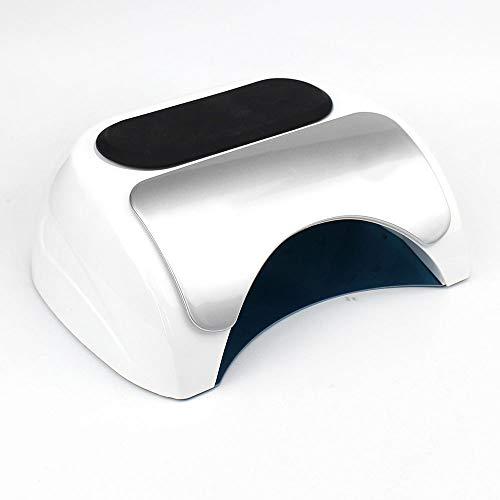 Lámpara de uñas,48W CCFL LED Monopatín UV uñas secador de la lámpara polaca para el curado del polaco del gel con herramientas 10/30/60 Sec temporizador manicura pedicura Máquina Nails Art Salon