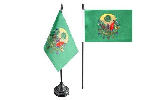 Flaggenfritze® Tischflagge Osmanisches Reich Wappen - 10 x 15 cm